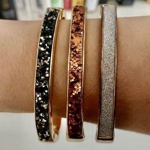 3 bracelets from Express